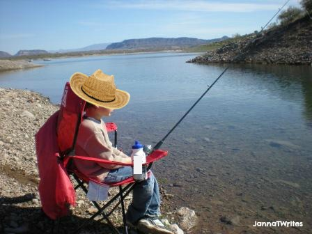 Fishing:  The ultimate waiting game...