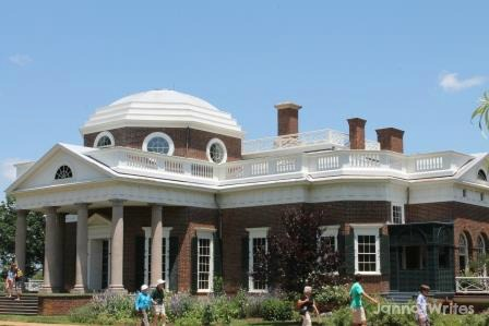 Monticello, front view