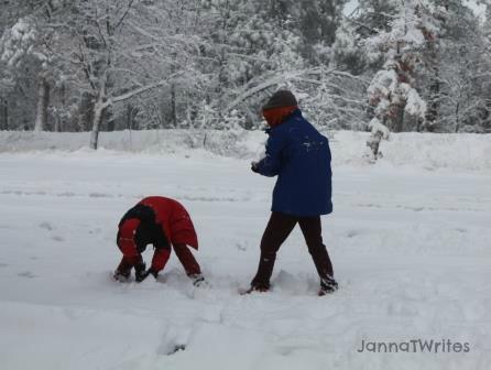 11-26 Snow Play