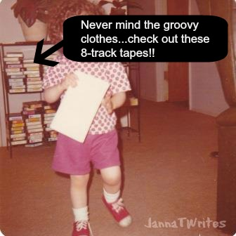 Yep, this is me... in all my 70s glory!