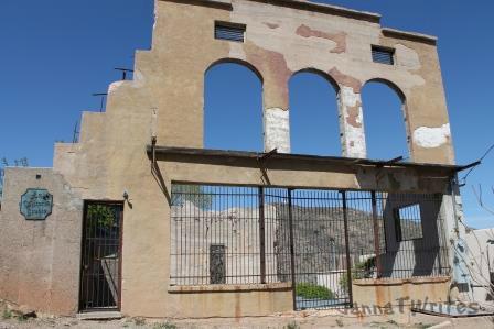 Building facade, Jerome, AZ