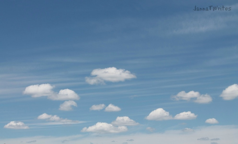 Yes, I'm indulging my obsession with clouds!