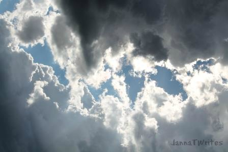 If we wait long enough, there is always a break in the clouds...