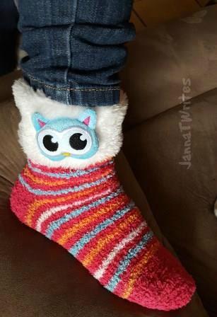My favorite fuzzy socks!