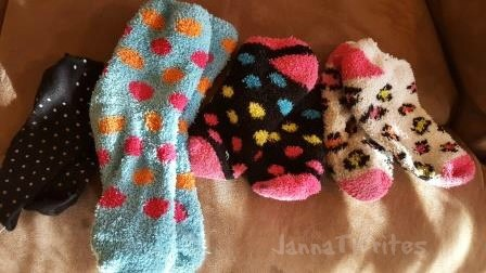 """I have an affinity for """"crazy"""" socks, it seems"""